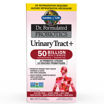Garden Of Life - Dr. Formulated Probiotic Urinary Tract+ Veg capsules