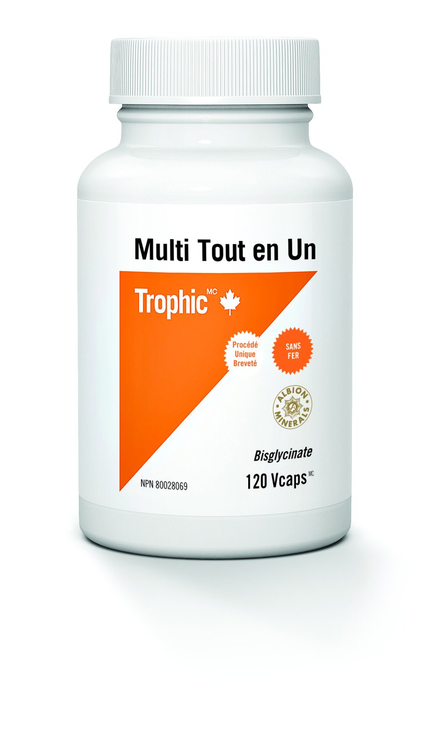 Trophic Complete One (No Iron) - 120 Veg. capsules