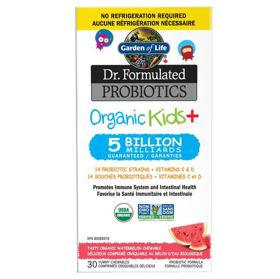 Garden Of Life - Dr. Formulated Probiotics Organic Kids Veg. capsules