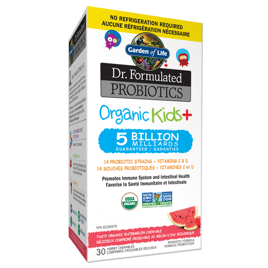 Dr. Formulated Probiotics Organic Kids+ Watermelon SS