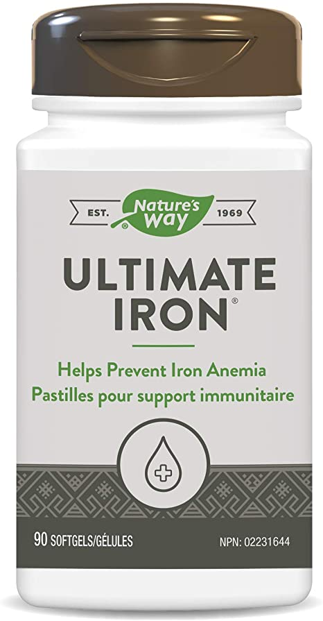 Enzyme Ultimate Iron Complex - 90 soft gel