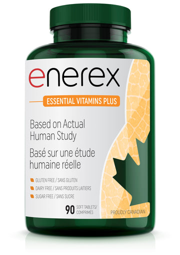 Enerex Essential Vitamins Plus 90 Tablets