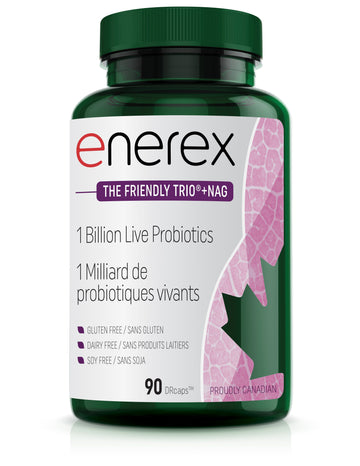 Enerex The Friendly Trio + Nag  90 Capsules