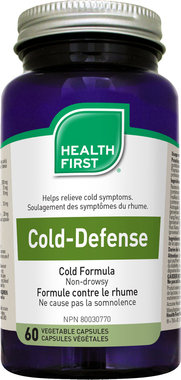 Health First Cold-Defense 60 veg. capsules