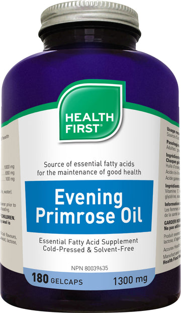 Health First Evening Primrose Oil Gel Caps
