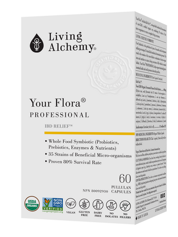 Living Alchemy Your Flora PROFESSIONAL 60 veg. capsules