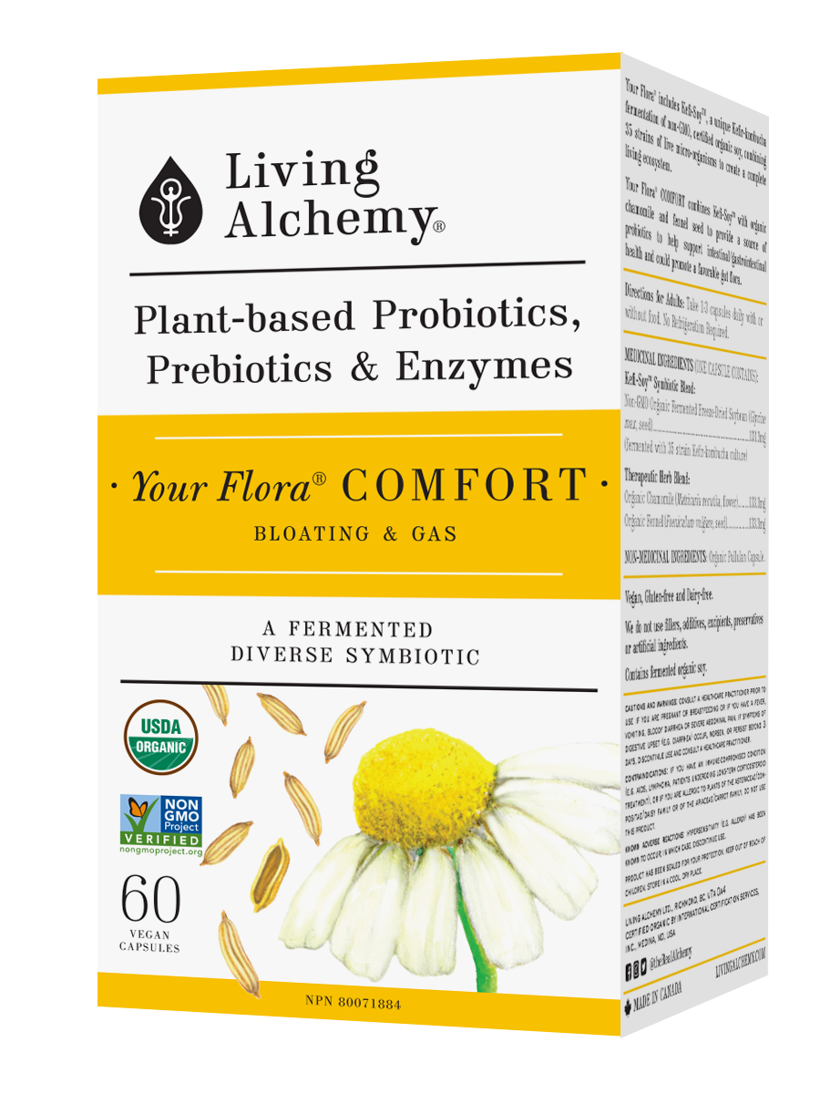 Living Alchemy Your Flora Comfort veg. capsules