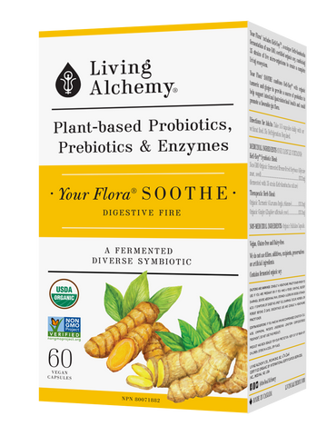 Living Alchemy Your Flora Soothe 60 veg. capsules
