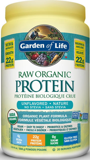 Garden Of Life - RAW  ORGANIC Protein™ - Unflavored
