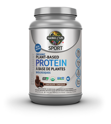 SPORT Organic Plant Based Protein - Chocolate