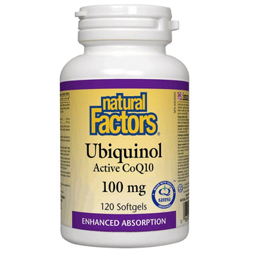 Ubiquinol active CoQ10 - 120 soft gel