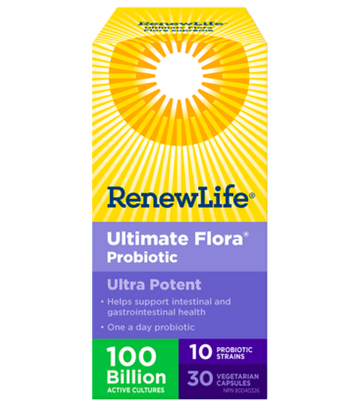 Ultimate Flora 100B - 36 veg cap