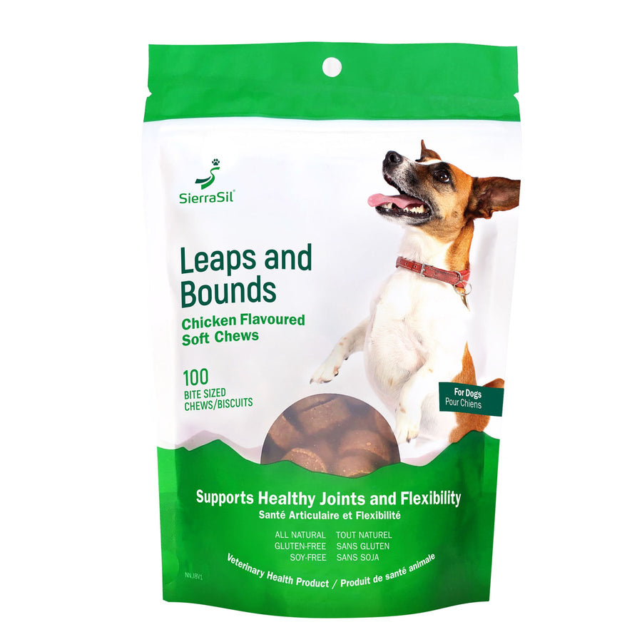 SierraSil Leaps & Bounds Soft Chews for Dogs