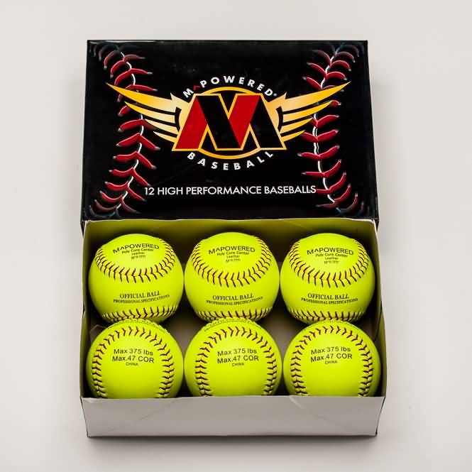 .375 44 Core Softballs
