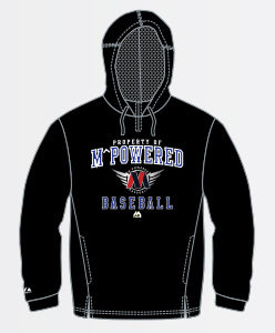 Pro Black Hooded Sweatshirt