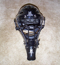 Hockey Style Helmet & Throat Guard