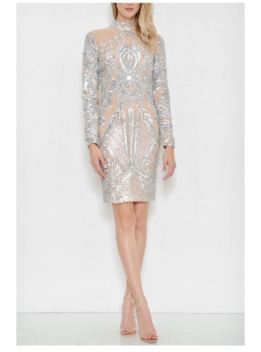 New Years Eve Sequin Dress