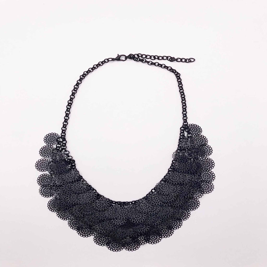 Black Nova Statement Necklace