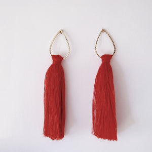 Lily Tassel Earrings