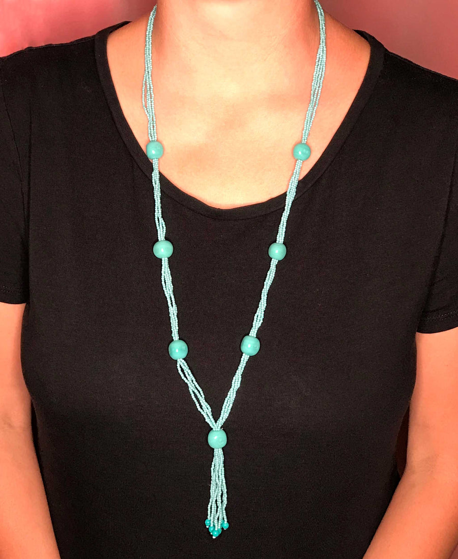 Sienna Tassel Necklace