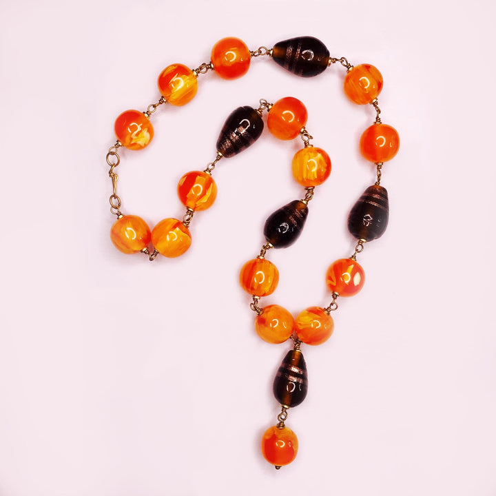 Autumn Bead Necklace
