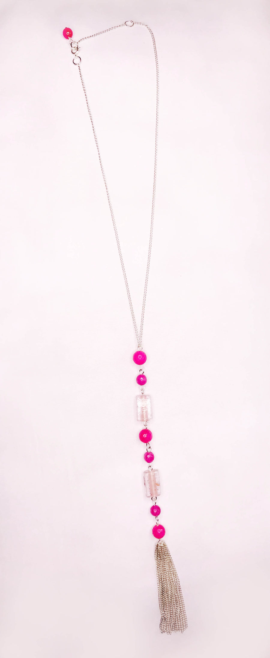 Iris Tassel Necklace