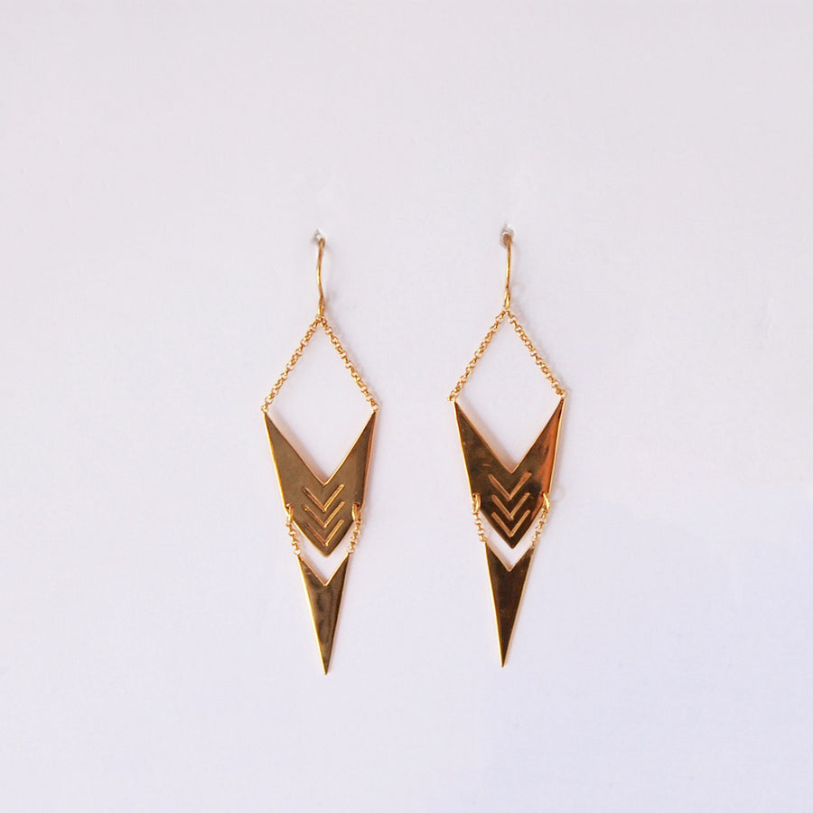 Point Earrings