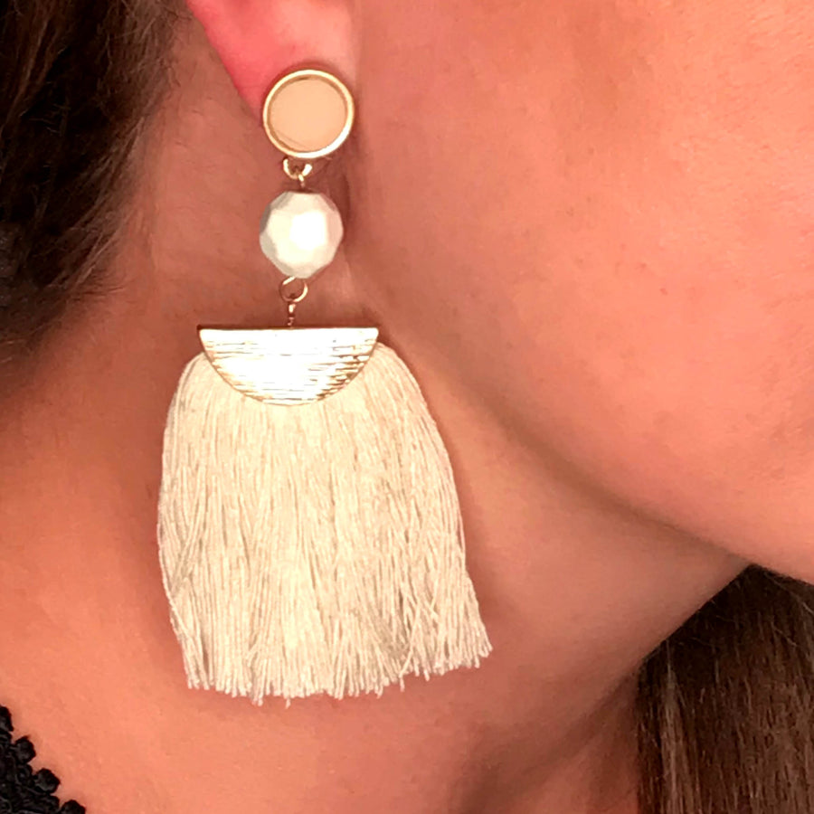 Sofia Tassel Earrings
