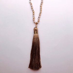 Stella Tassel Necklace