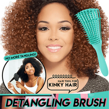 Load image into Gallery viewer, 4C Hair Scalp Massage Detangling Brush