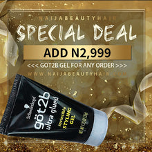 Load image into Gallery viewer, Naijabeautyhair Got2b Styling Hair Gel, 35g