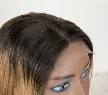 Load image into Gallery viewer, 1B/27 Ombre Color 4x4 Lace Closure Wig