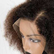 Load image into Gallery viewer, Ombre Afro Kinky Frontal Wig 14""