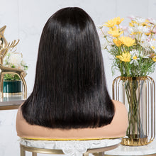 "Load image into Gallery viewer, Silky Straight Fringe Bob Wig 12"" [BIG SALE]"