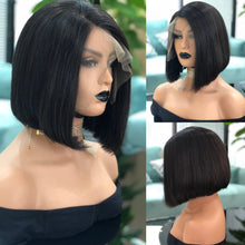 Load image into Gallery viewer, Double Drawn Mini Bob Frontal Wig