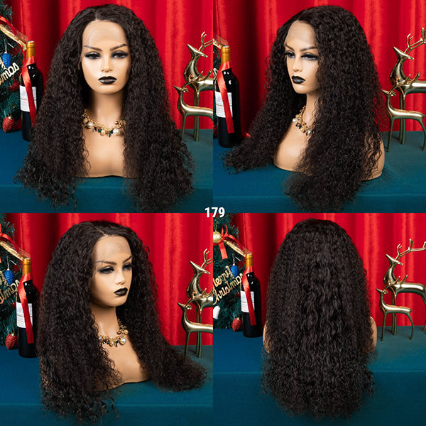 360 Lace Wig Original Curly hair 24