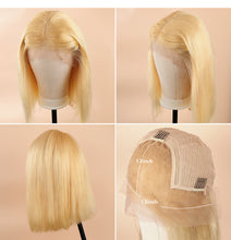 Load image into Gallery viewer, 613# Blonde Frontal Wig 10""