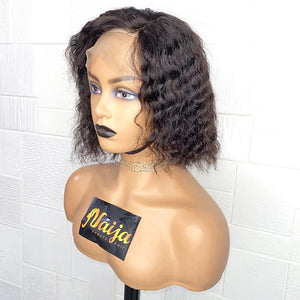 "Deep Wave Full Lace Wig 10"" [BIG SALE]"