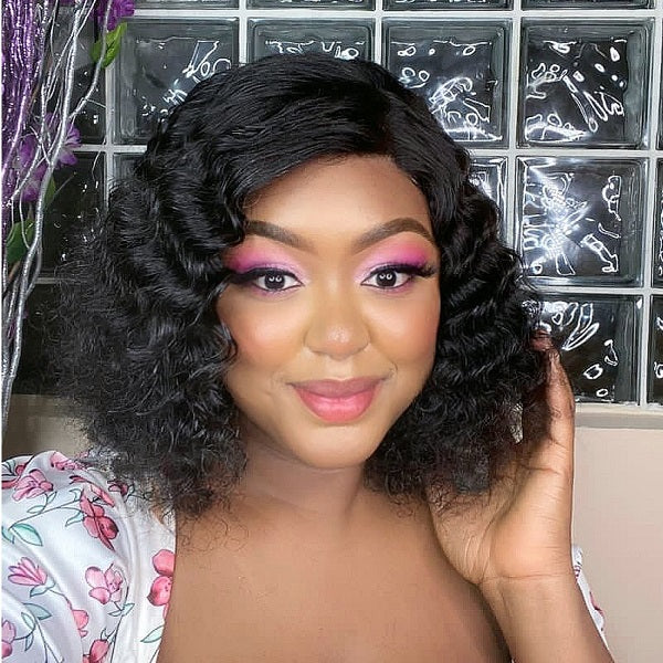 Deep Wave Closure Wig