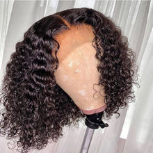 Load image into Gallery viewer, Deep Curly Frontal Wig 8""
