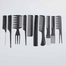 Load image into Gallery viewer, 10pcs/Set Professional Hair Brush Comb