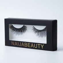 Load image into Gallery viewer, Natural Long 5D Mink Eyelashes