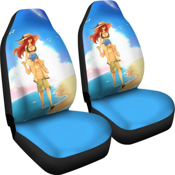 Jellal Erza Fairy Tail Car Seat Covers
