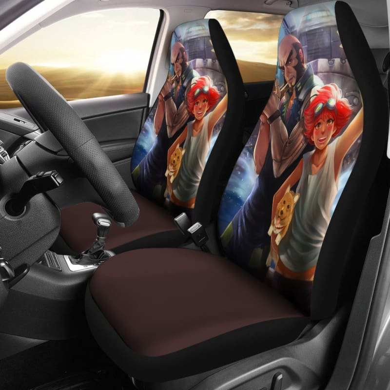 Excellent Jet Black Edward Cowboy Bebop Car Seat Covers Alphanode Cool Chair Designs And Ideas Alphanodeonline