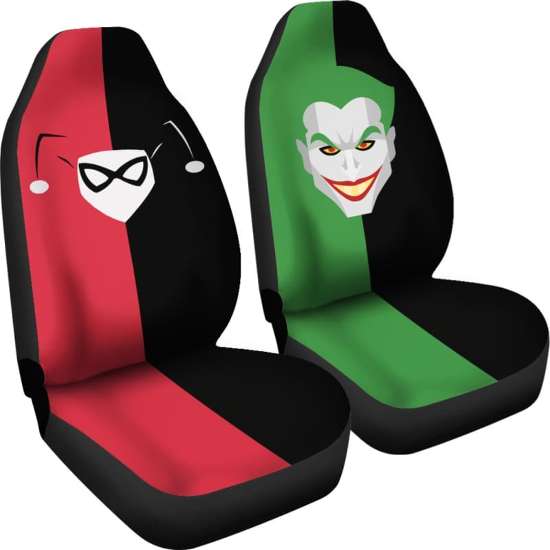 Joker And Harley Quinn Car Seat Covers Gearkinda Free Shipping