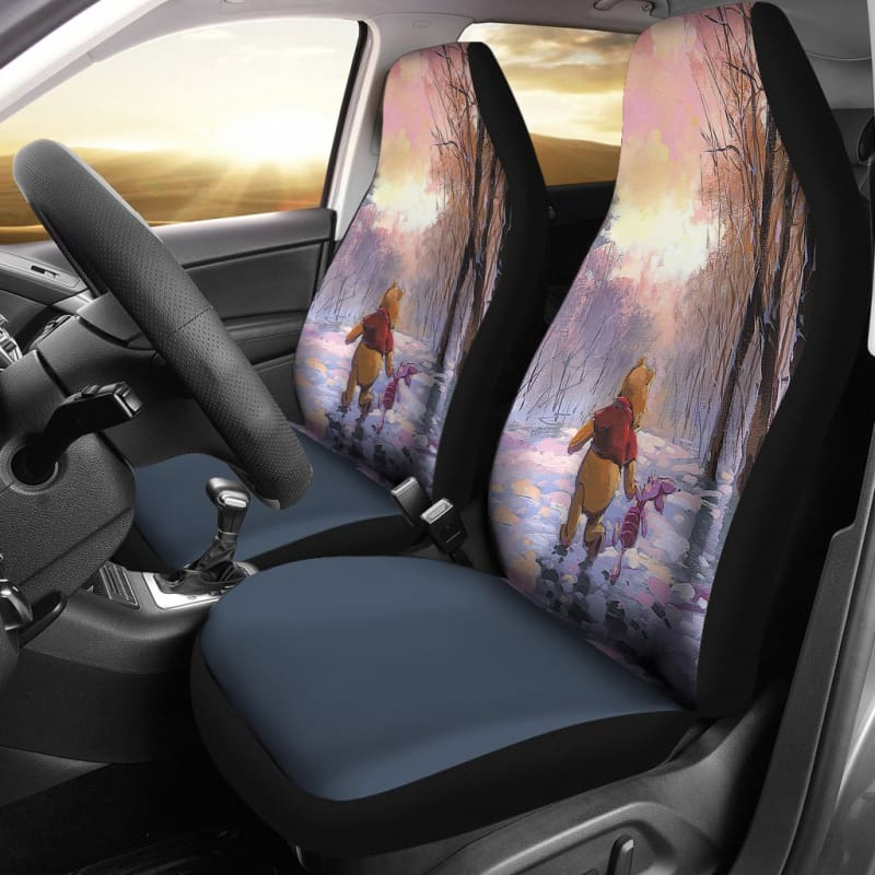 Pooh And Piglet Car Seat Covers Gearkinda Free Shipping