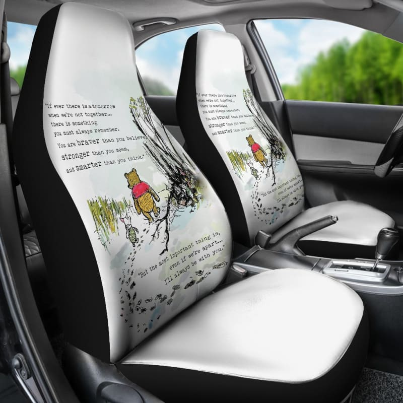 Winnie The Pooh Piglet Car Seat Covers Gearkinda Free Shipping