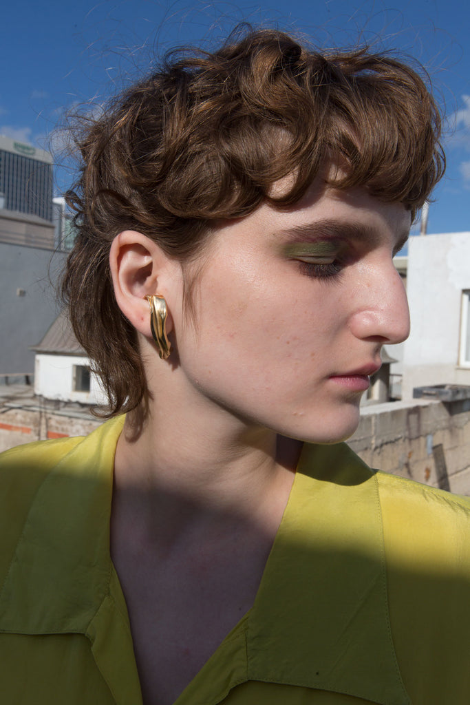 YOSTER X JF Pupa Earrings
