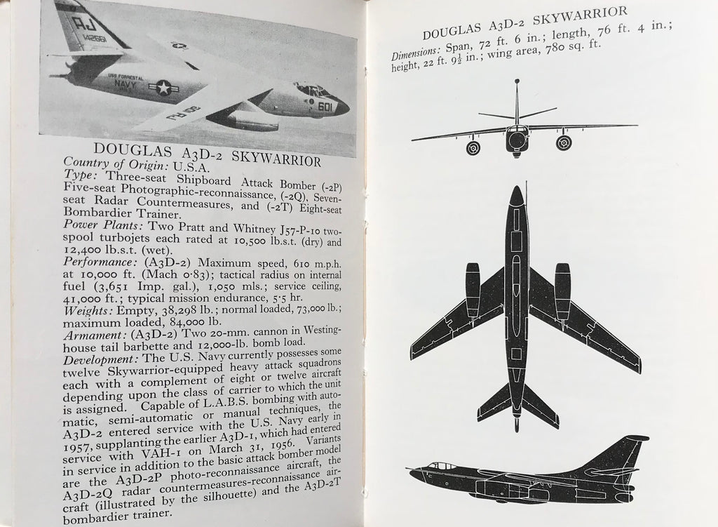 The Observer's book of Aircraft 1962