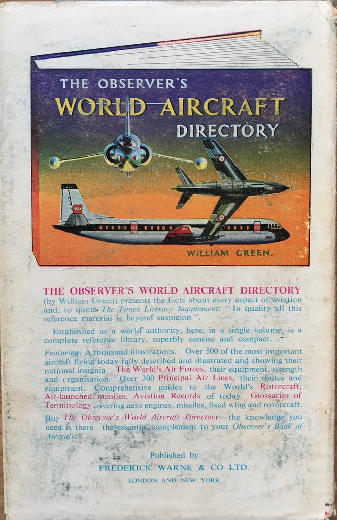 The Observer's book of Aircraft 1965